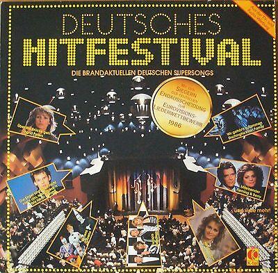 Deutsches Hitfestival - Brandaktuelle deutsche Supersongs (K-tel Vinyl-LP 1986)