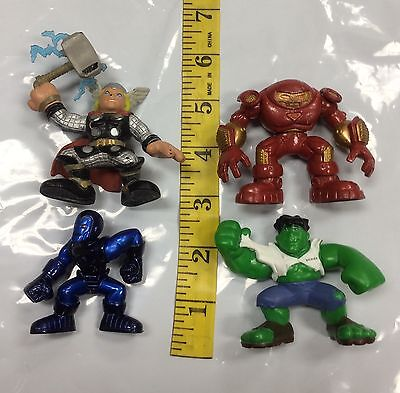 Iron Man Thor Armor (Super Hero Squad Mixed Lot Stealth Armor Blue Iron Man Thor Hulkbuster Hulk)