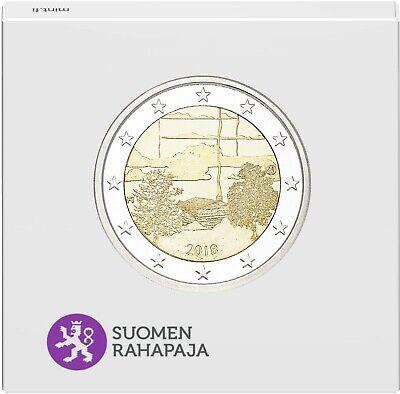 2 euro commémorative de finlande 2018 belle epreuve (be) - culture sauna