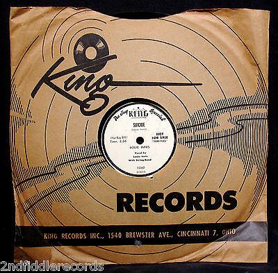 LOUIE INNIS-I Ain't Got A Pot+Suicide-Museum Quality Rockabilly DJ 78-KING (Rockabilly Museum)