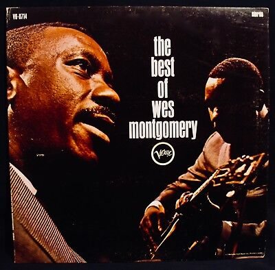 WES MONTGOMERY-The Best Of-Near Mint Jazz Guitar Album-VERVE #V6-8714-A Top