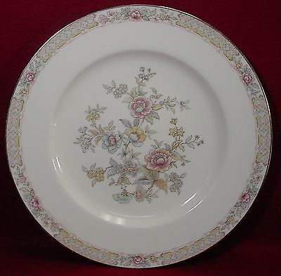 Noritake China Imperial Garden 9720 Pattern Dinner Plate  10 5 8