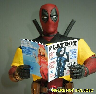1/6 Scale Custom Playboy - Domino - full interior, Deadpool Wade Wilson