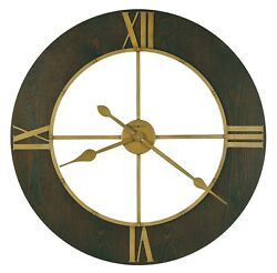 625-747 -NEW  OVERSIZED HOWARD MILLER CHASUM GALLERY WALL CLOCK  625747