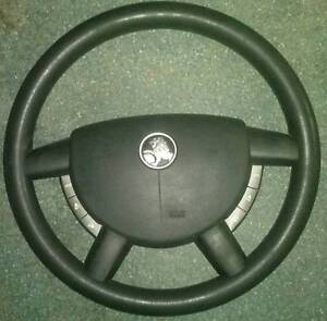 VY commodore steering wheel w buttons radio control vx vt vz cala Eltham Nillumbik Area Preview