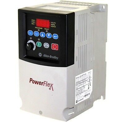 Tested Allen Bradley 22a-d8p7n104 A Powerflex 4 Ac Drive 5hp 8.7a 480v