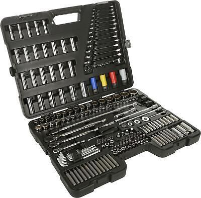 Halfords Advanced 200 Pc Socket And Ratchet Spanner Set Workshop Tools