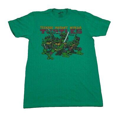Teenage Mutant Ninja Turtles TMNT Shadowy Characters Vintage Retro Men's T shirt - Ninja Turtle Shirt