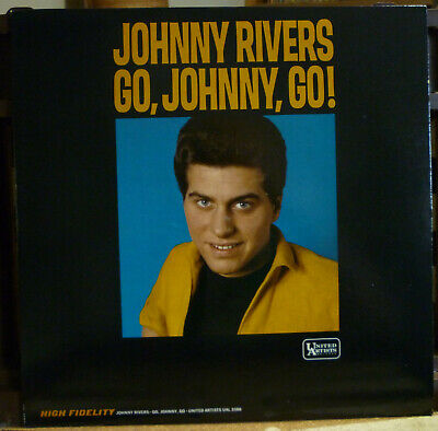 "JOHNNY RIVERS ""GO,JOHNNY,GO!"" United Artists UAL 3386 Rare & NM from 1964"