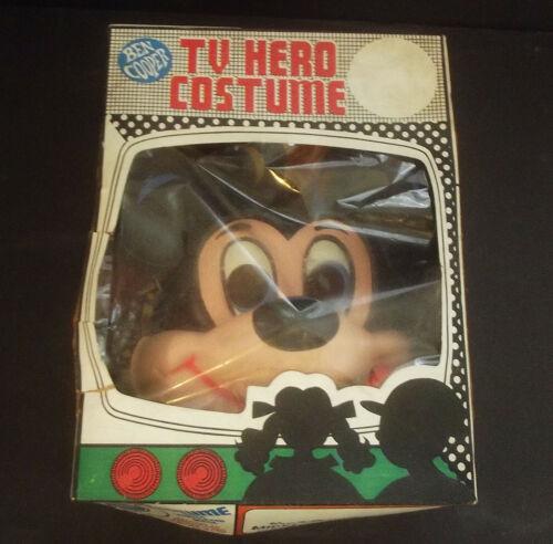 1963 Ben Cooper TV Hero vintage Mickey Mouse Halloween Child