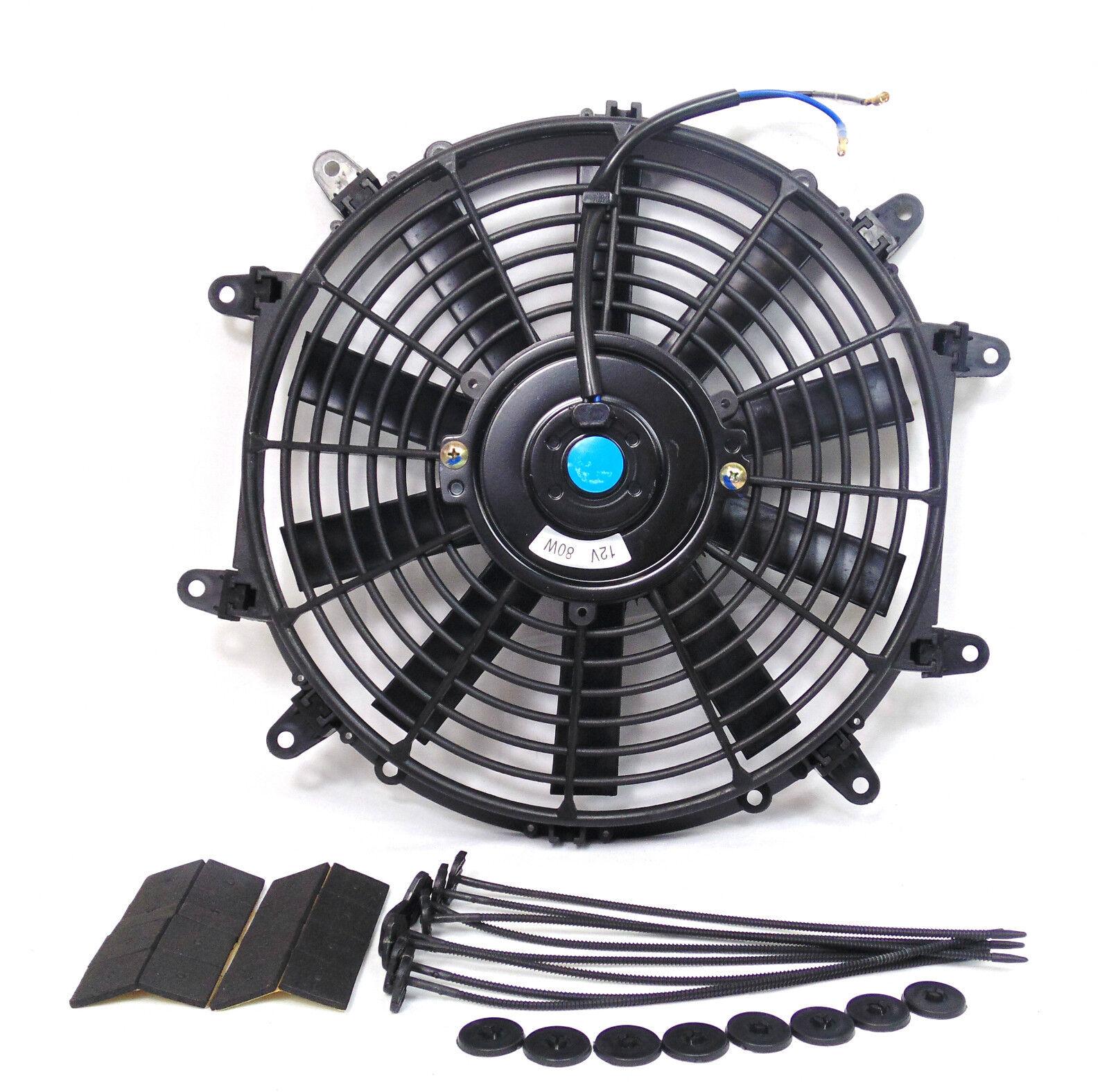Premium 12 Inch Slim Universal Electric Radiator Cooling Fan 8 Home Electrics Category Listing Super