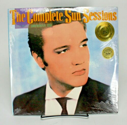 ELVIS PRESLEY THE COMPLETE SUN SESSIONS 2 LP RECORD SET - SEALED