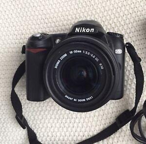 Nikon D50 DSLR Camera with 15-50 mm Lens