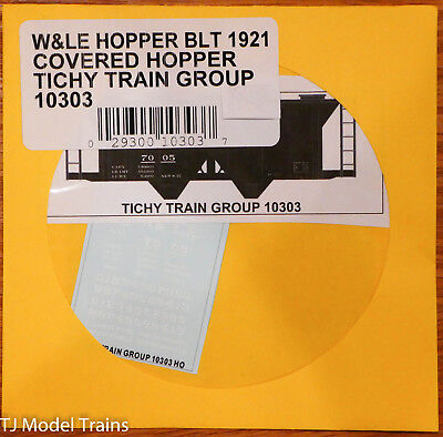 (Tichy Train Group HO #10303 W&LE Covered Hopper (Built 1921) (Decal))