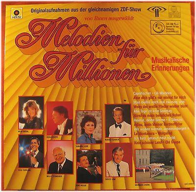 Melodien für Millionen, ZDF-Show, VG/VG  LP (3361)