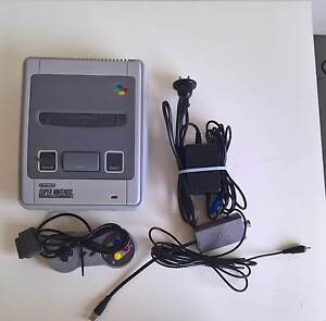 Super Nintendo Entertainment System snes Maroubra Eastern Suburbs Preview