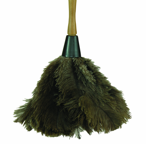 """3"""" Ostrich Feather Duster  Size: 13"""" H x 6.5"""" W x 6.5"""" D"""