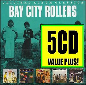 BAY CITY ROLLERS (5 CD) ROLLIN'~ONCE UPON A STAR~DEDICATION~IT'S A GAME ++ *NEW*
