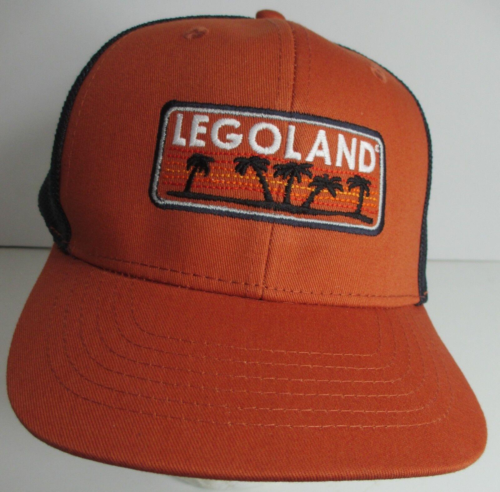 Legoland Hat Cap Trucker Snapback California USA Embroidery