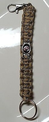 Marine Corp Eagle Globe   Anchor Deluxe Key Chain With Lobster Clasp