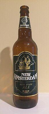 Vintage New Amsterdam New York Ale Beer Bottle 1 Pint 6 Fl. Oz