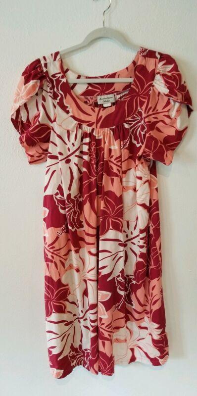 Royal Hawaiian Creations Small Muu Muu Dress  HAWAII muumuu Polyester/Cotton