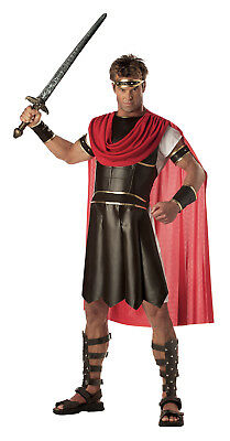 Hercules 300 Greek Roman Spartan Warrior Adult Costume - Greek Costume Men