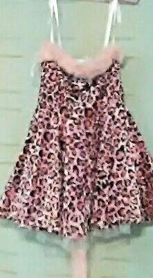 Girl Cat Costumes (Costume California Costume Pink Leopard Cat Girl's X-)