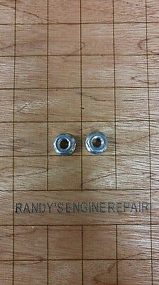 (2) ECHO NUT 10MM # 43301903933 BAR NUTs GUIDE BAR COVER US Seller Guide Bar Cover
