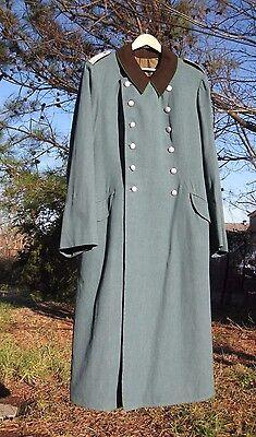 WW2 German  Police Officers  wool gaberdine Greatcoat