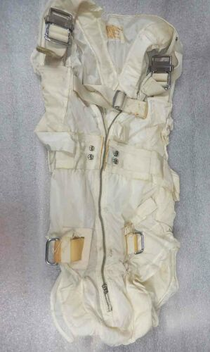 1962 US Navy Nuclear Mission White MA-2 Integrated Torso Harness MIL-S-19089