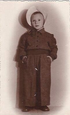 1950s RARE Little cute dressed girl fashion costume Russian Soviet photo