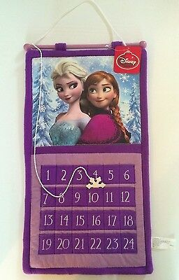 Frozen Advent Calendar Disney Christmas Countdown Anna & Elsa Princess NEW