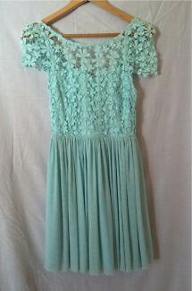 Blue semi-formal dress size 8 Sandgate Brisbane North East Preview
