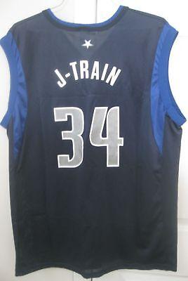 Dallas Mavericks Gear (NBA Dallas Mavericks J-Train #34 Jersey By Champion Size)