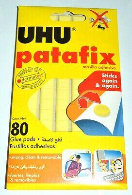 UHU PATAFIX 80 GLUE PADS- STICKS AGAIN AND AGAIN-