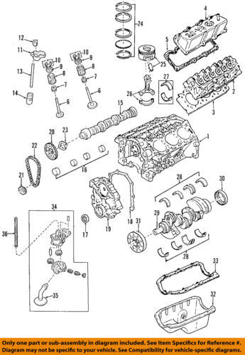 2002 mazda b2300 engine diagram mazda oem 98 07 b3000 engine crankshaft crank seal zzm111399 ebay  mazda oem 98 07 b3000 engine crankshaft