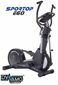 Sportop E60 Spin Fit Series Cross Trainer Smooth 12kg Flywheel Malaga Swan Area Preview