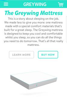 """Queen mattress """" GREYWING """" """" MEMORY FOAM """" 24 cm. FEELS LIKE NEW"""
