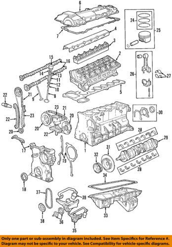 BMW OEM 95-99 M3-Engine Conrod Connecting Rod 11241247175