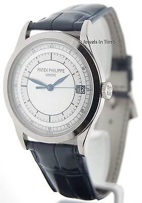 Patek Philippe 5296 18K White Gold Mens Wrist Watch Box/Papers 5296G