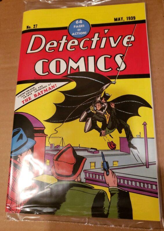 Detective Comics 27 Loot Crate Reprint In Sealed Polybag 1st Batman