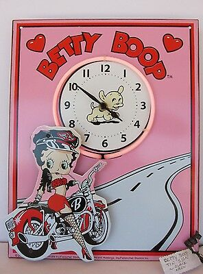 Betty Boop Neon/Clock - Brand New - Works Great