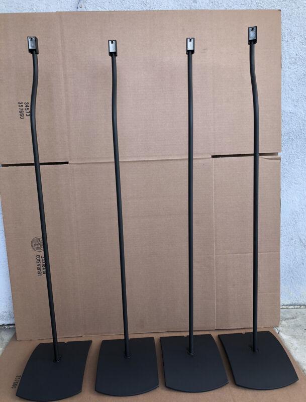 4 Bose UFS-20 Series 1 Speaker Stands