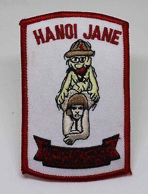 Vietnam Era Snoopy Red Baron Patch FU Jane Fonda Troops Soldier Pilot Military