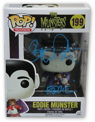 Eddie Monster (Butch Patrick Hand Signed Autographed Funko Pop! Doll Eddie Monster)