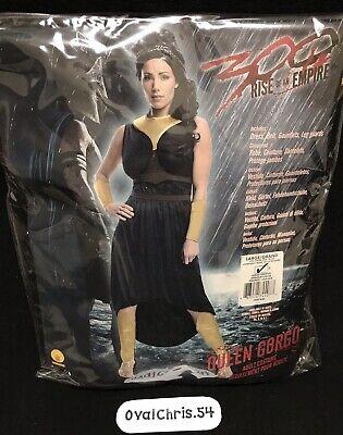 300 Rise Of Empire Queen Gorgo Women's Halloween Costume Sz Large New!