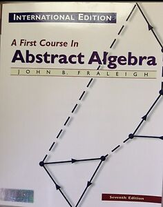 A first course in abstract algebra 7th