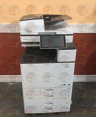 Ricoh Aficio Mp C6004 Color A3 Laser Multifunction Printer Copier Scanner 60 Ppm