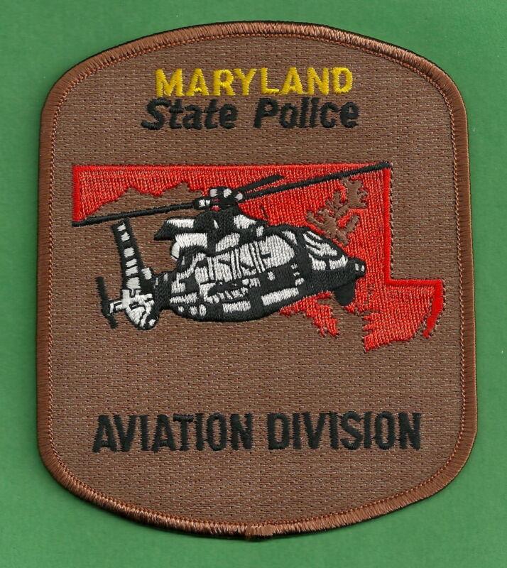 MARYLAND STATE POLICE AVIATION UNIT SHOULDER PATCH